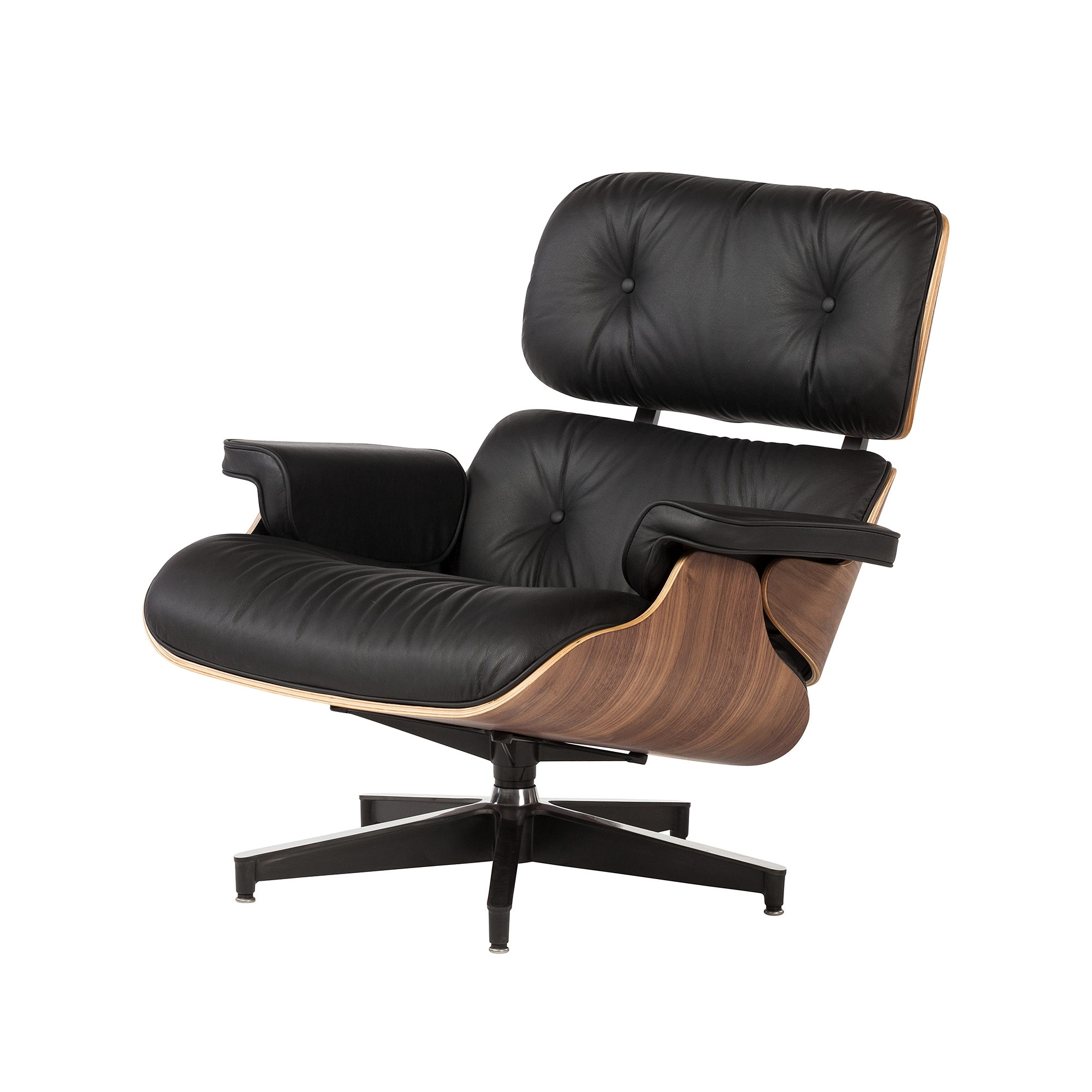 Eames Lounge Chair with Ottoman The Khazana Home Austin Furniture