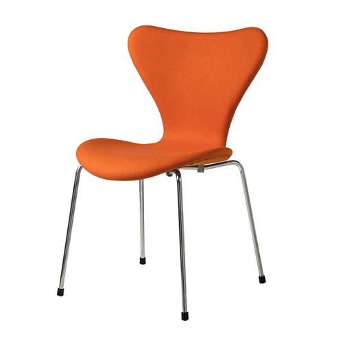 Series 7 Inspired Side Chair Orange Cashmere