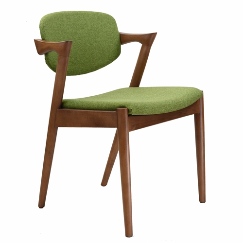 Kai Style Dining Chair in Green
