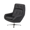 Koppla Swivel Chair, Dark Grey