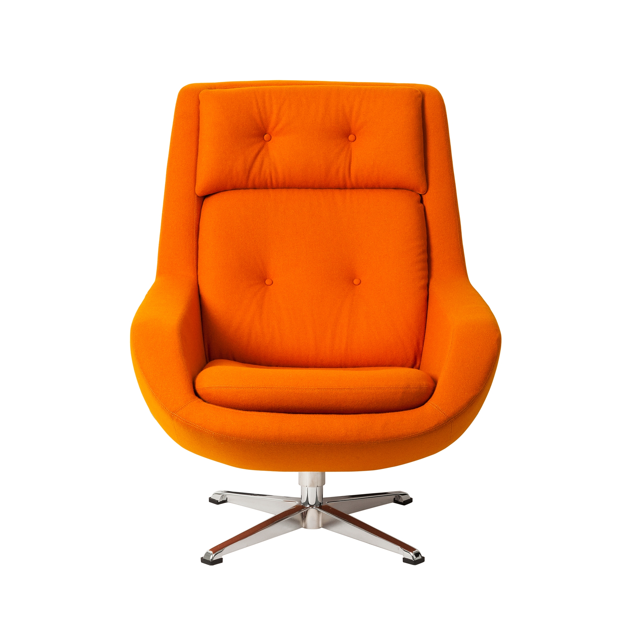 Koppla Swivel Chair, Orange