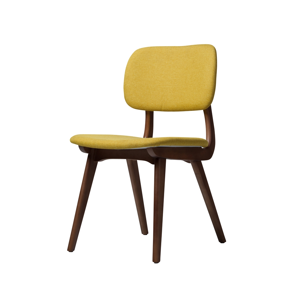 Ivor Side Chair In Yellow
