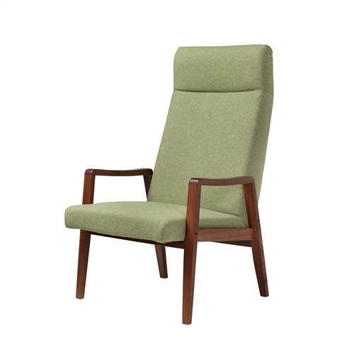 Milo Baughman Style Arm Chair