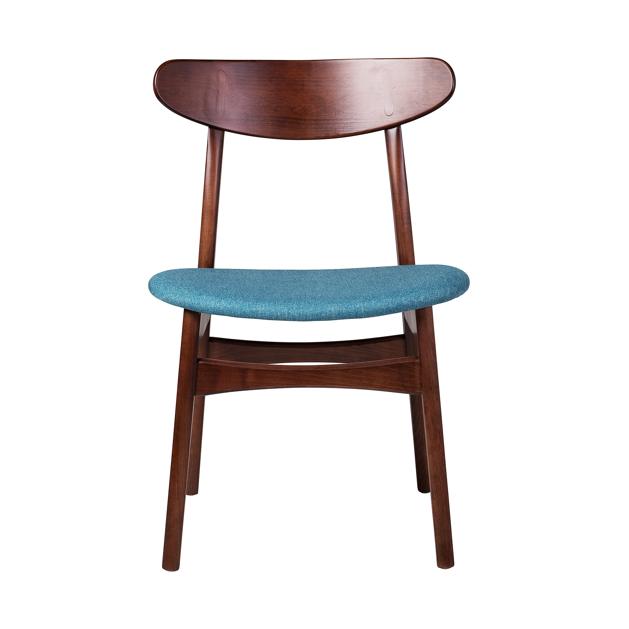 Wegner Style Buhl Side Chair Khazana Home Austin Furniture Store