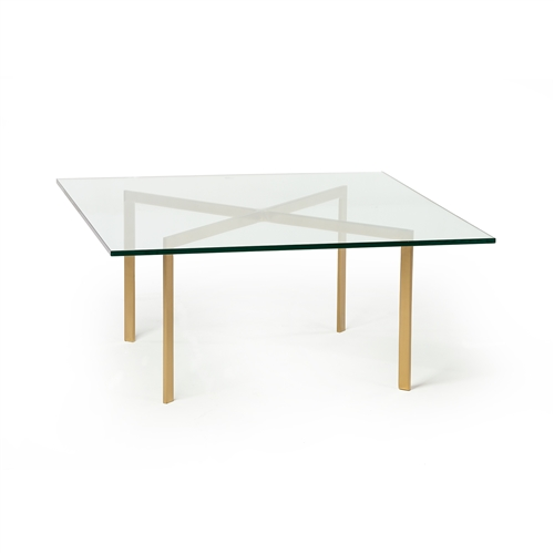 Barcelona Style Coffee Table in Champagne Gold
