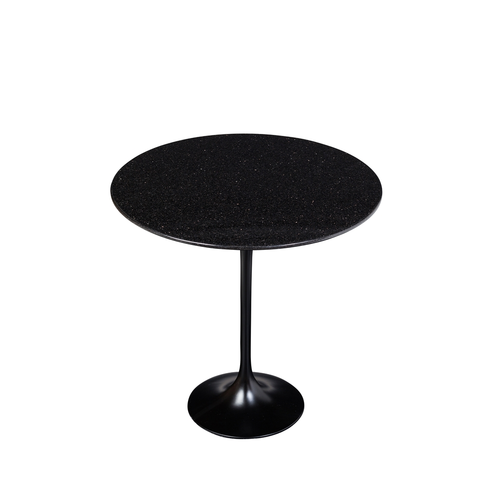 Charmant Saarinen Style Tulip Granite Side Table ...