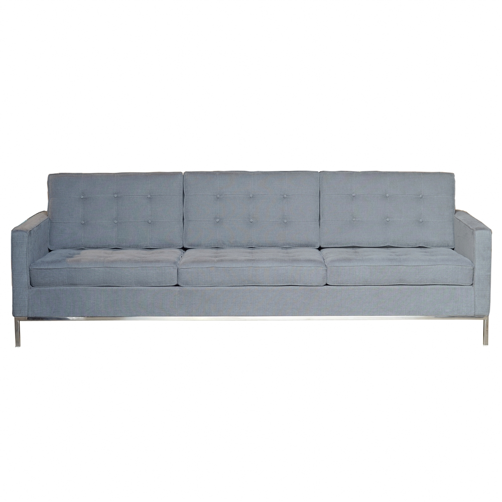 Florence Knoll Replica 3 Seater Sofa