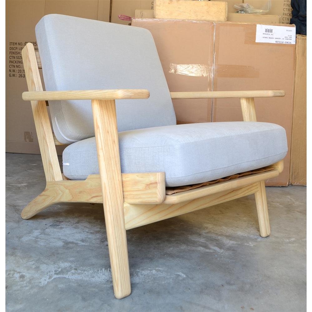 The Design Tree Home Replica Hans Wegner Plank Armchair