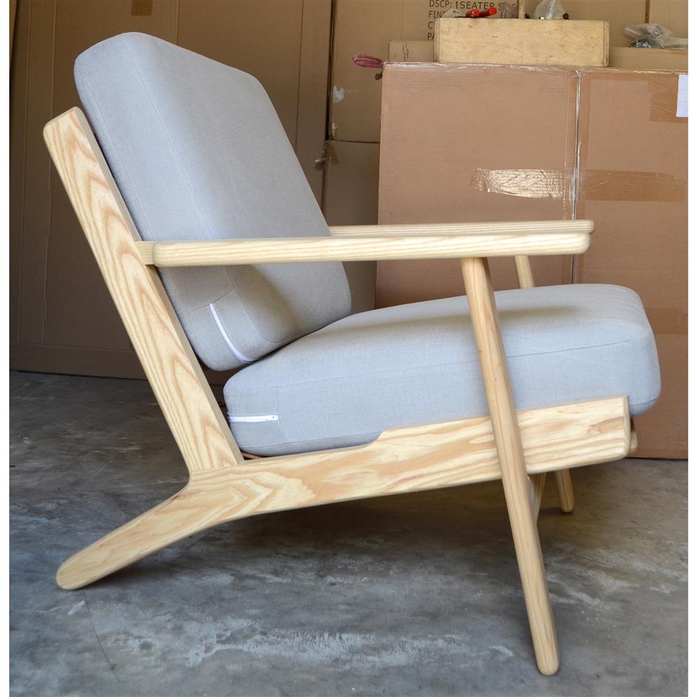 hans wegner plank armchair the khazana home austin furniture store