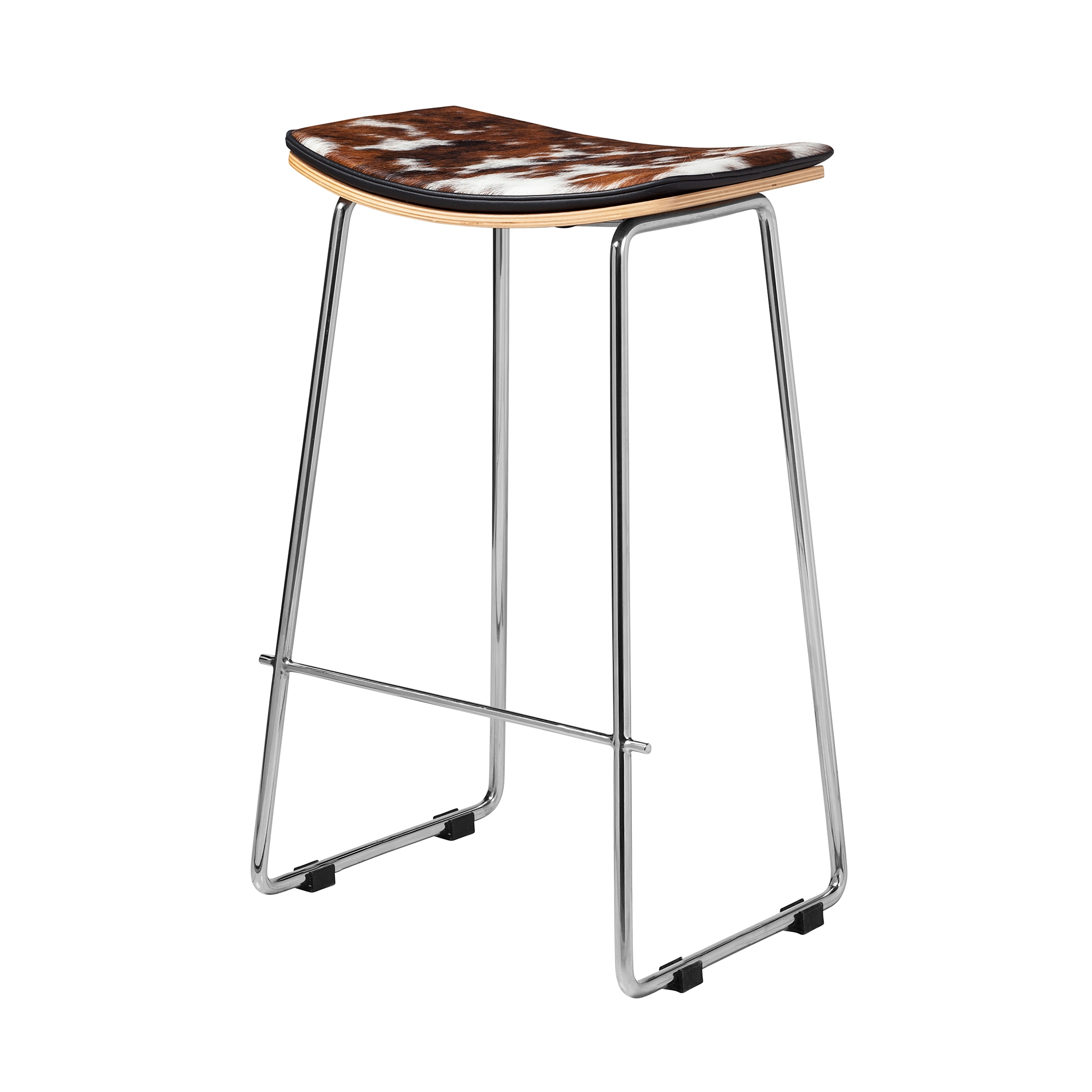 Yvonne Potter Y Design Cowhide Counter Stool, Khazana Home Austin ...