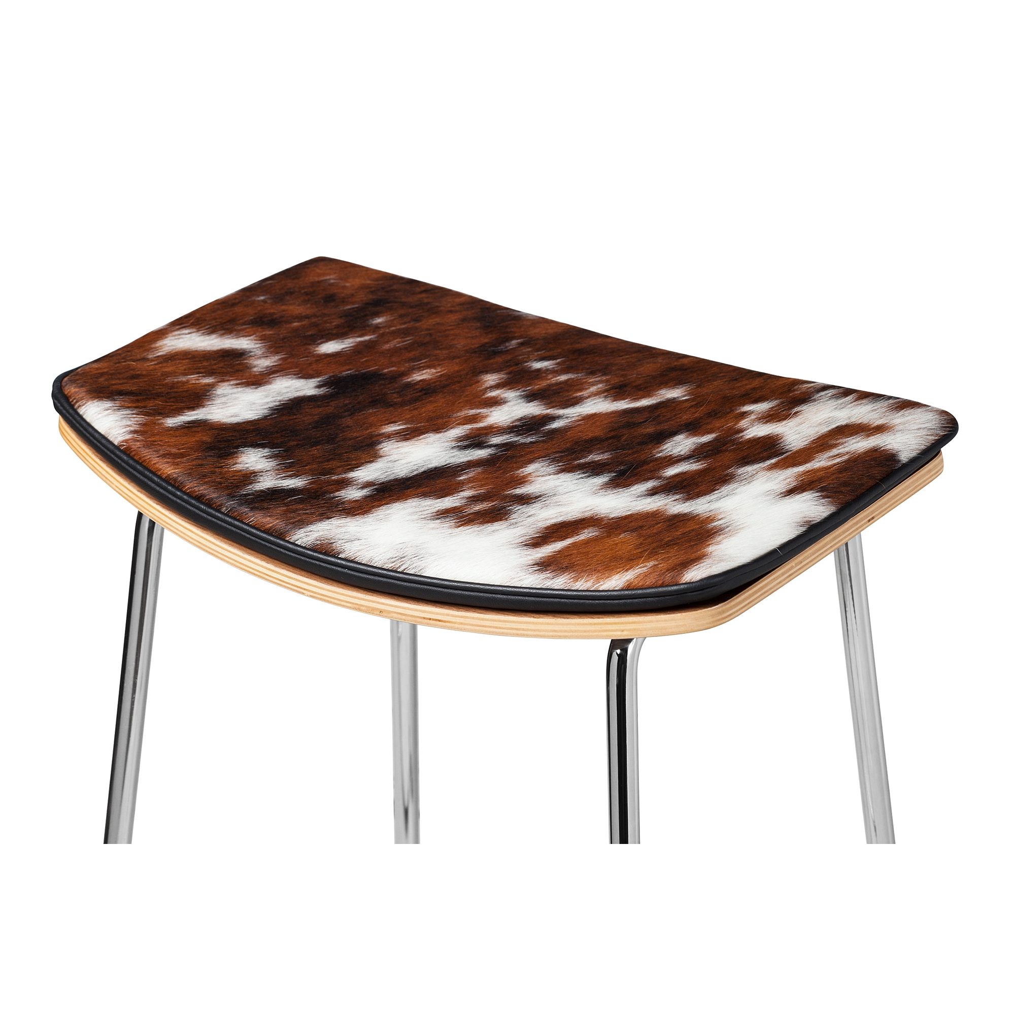 Yvonne Potter Y Design Cowhide Counter Stool - Yvonne Potter Y Design Cowhide Counter Stool, Khazana Home Austin