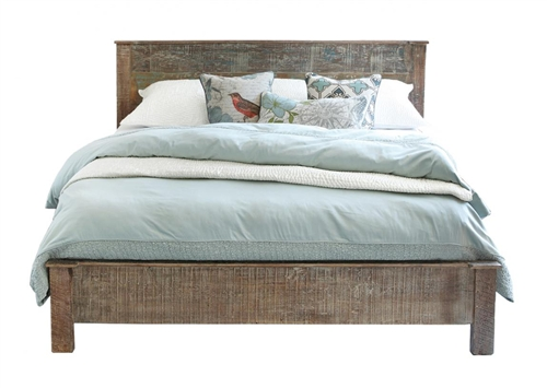 Hamilton Teak Bed - Eastern King