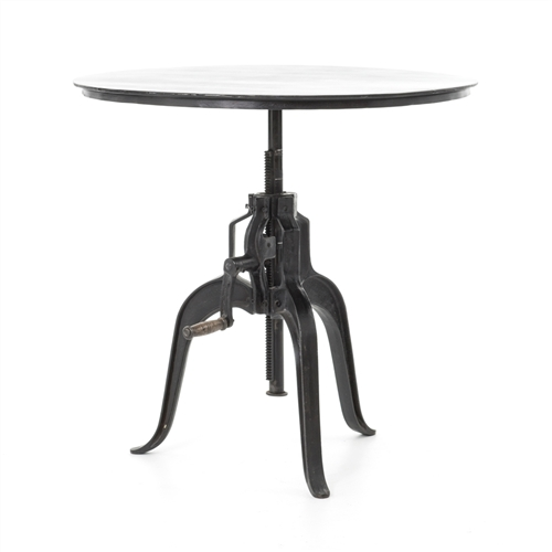 "Rockwell 24"" Crank Adjustable Side Table"