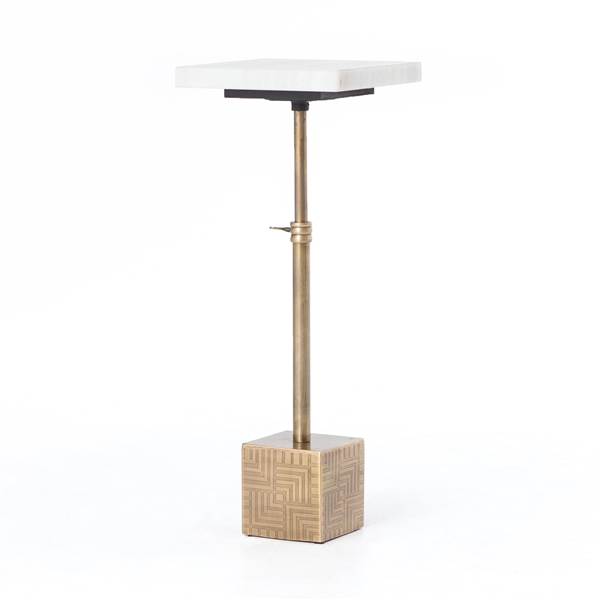 Asher Sirius Adjustable Accent Table
