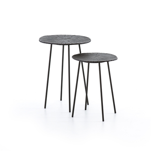 Asher Whistler End Tables, Set of 2
