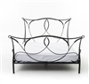 Primitive Sienna Iron Queen Bed