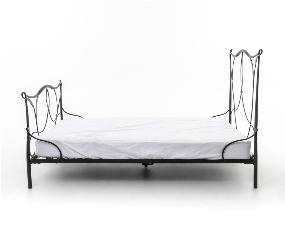 Sienna Iron Queen Bed, The Khazana Home Austin Furniture Store