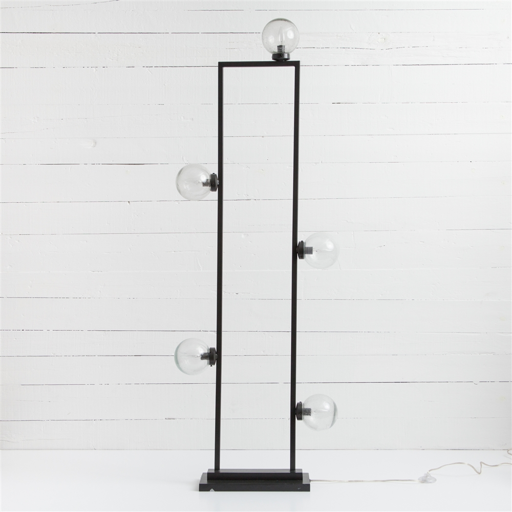 Hutton Clara Floor Lamp in Antique Iron, The Khazana Home Austin ...