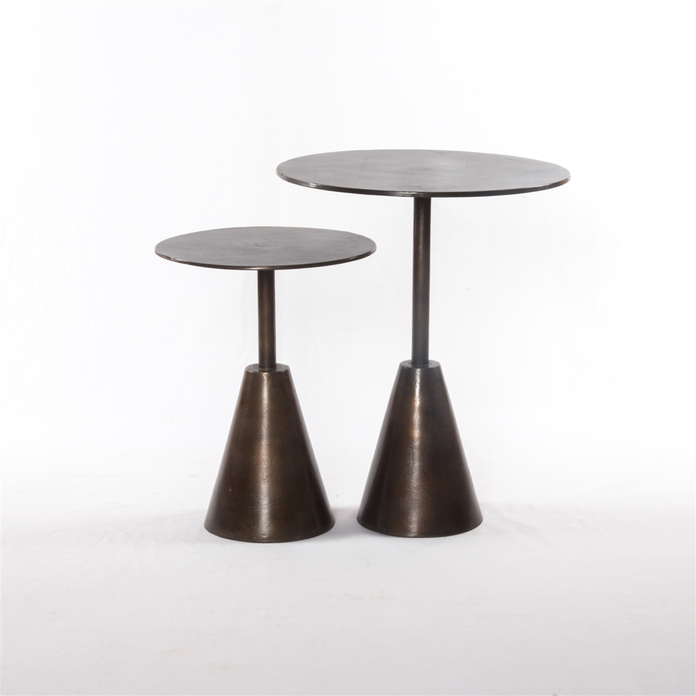 Marlow Frisco End Tables Set Of 2 The Khazana Home