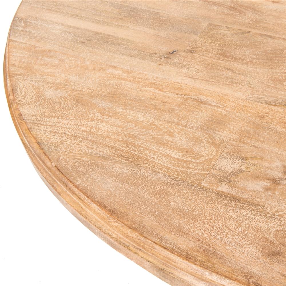 Magnolia Round Dining Table 60 Whitewash