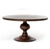 "Magnolia Round Dining Table 60""- Dark Oak"
