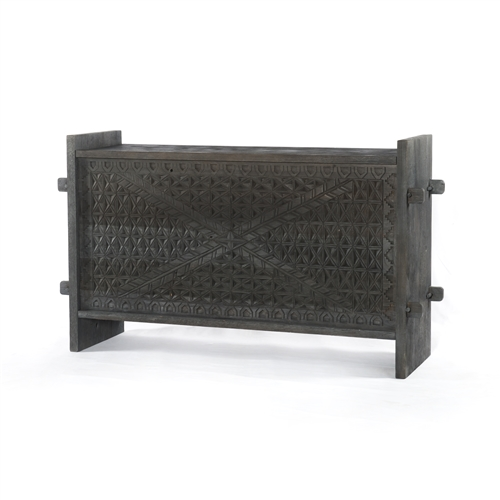 Columbus Trunk Console In Dark Totem
