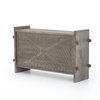 Columbus Trunk Console In Aged Grey