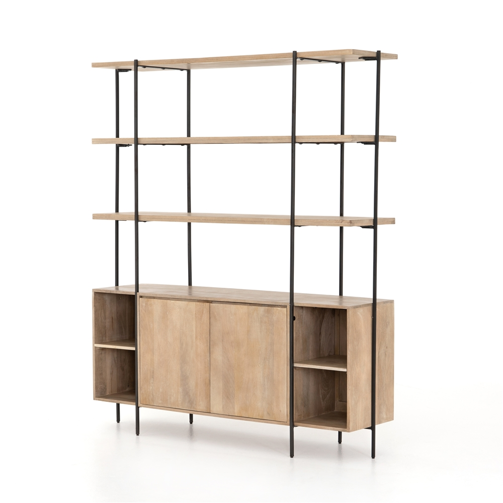 Elena Sideboard And Hutch, Four Hands Home