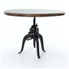 "Rockwell Adjustable Round 48"" Dining Table"