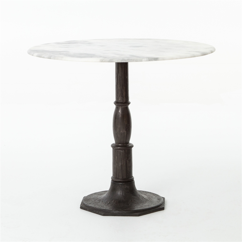 metal table white bistro tolia fortytwo d in cor home furniture