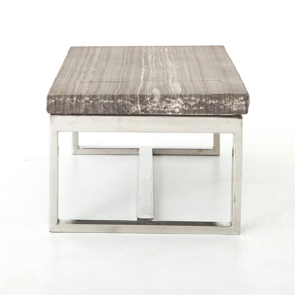 Slab Coffee Table Part - 45: Rockwell Stone Slab Coffee Table