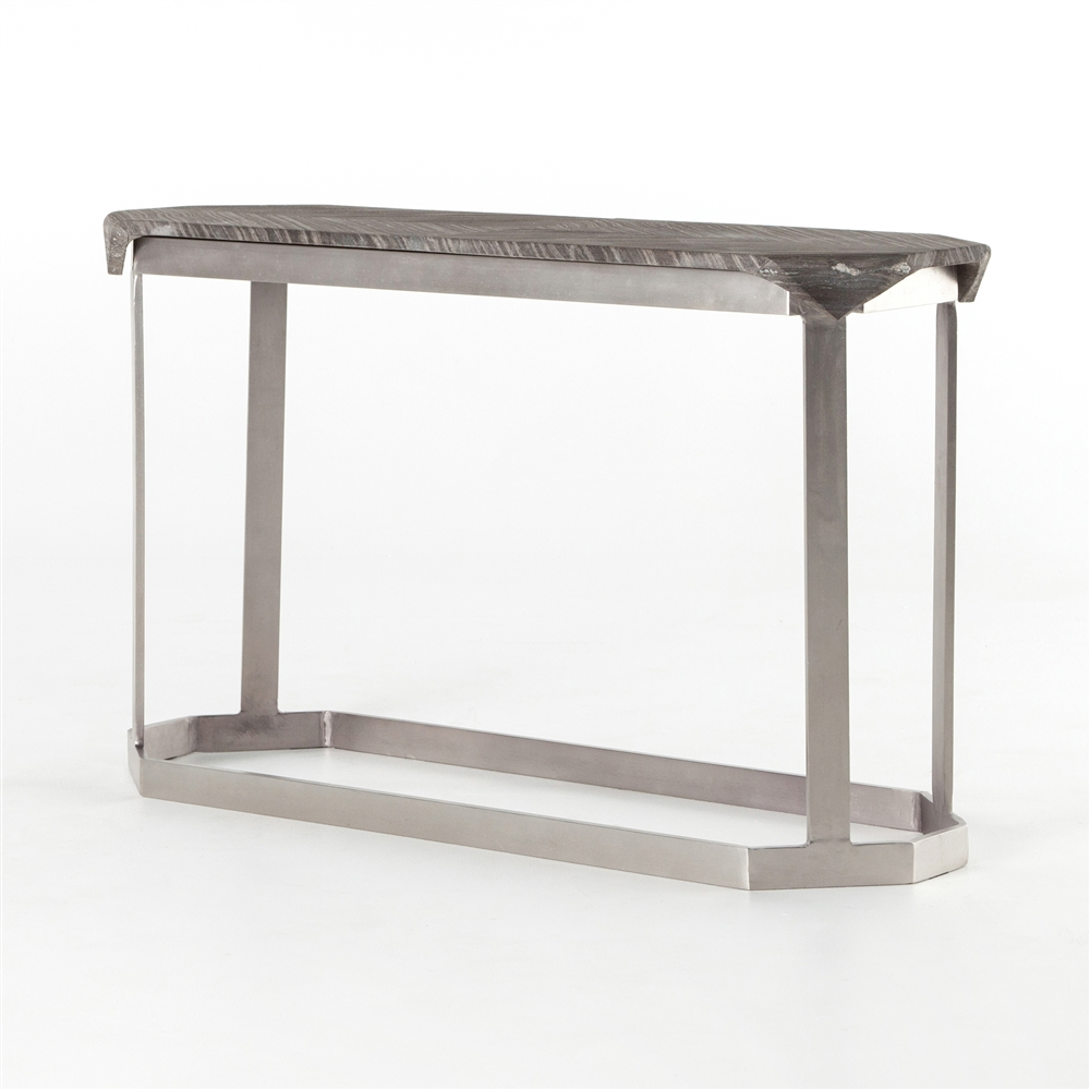 Regan Folded Marble Console Table