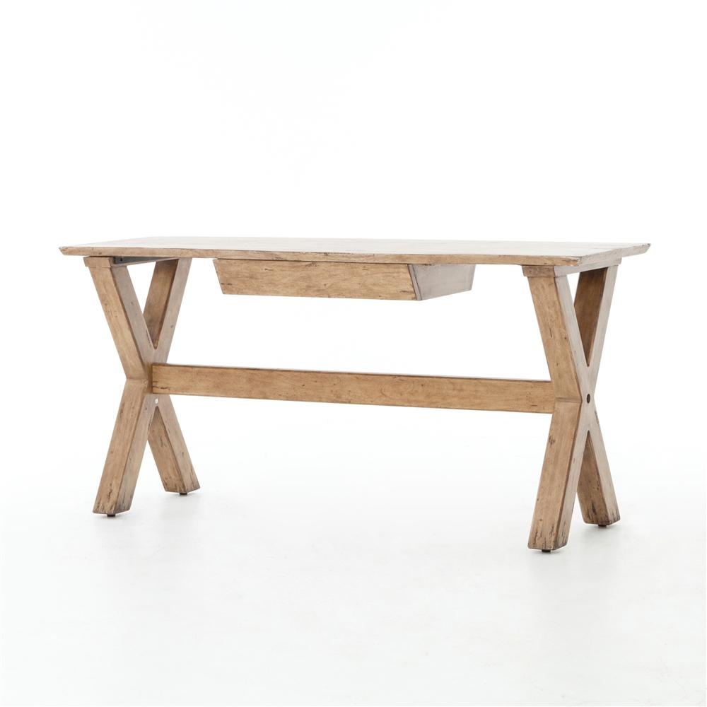 Acacia Console Table In Smokehouse