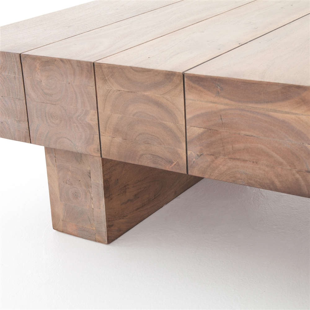Perfect Joined Plank Coffee Table ...