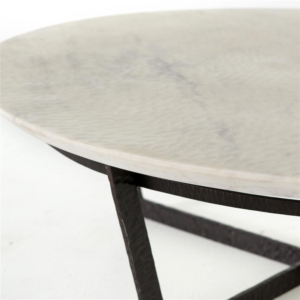 Theory Felix Round Coffee Table The Khazana Home Austin Furniture Store