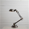 Spring Desk Lamp in Pewter