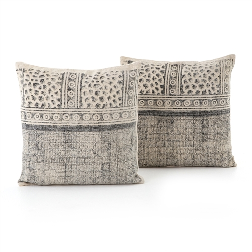 Faded Spot Print Pillow, Set of 2