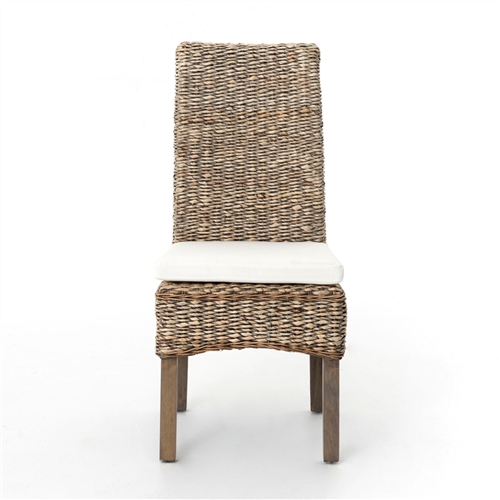 Grass Roots Banana Leaf Chair in Grey Wash