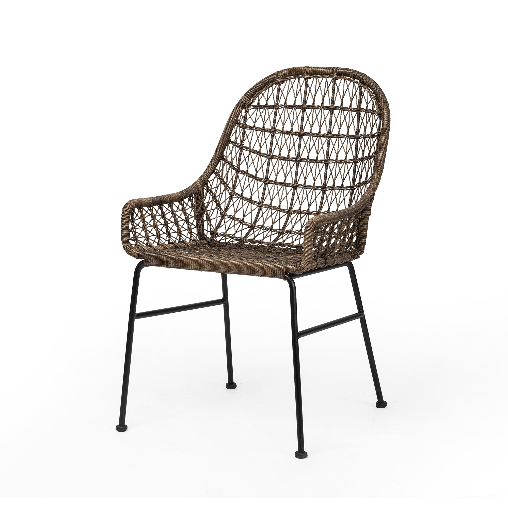 Grass roots bandera woven dining chair the khazana home austin furniture store