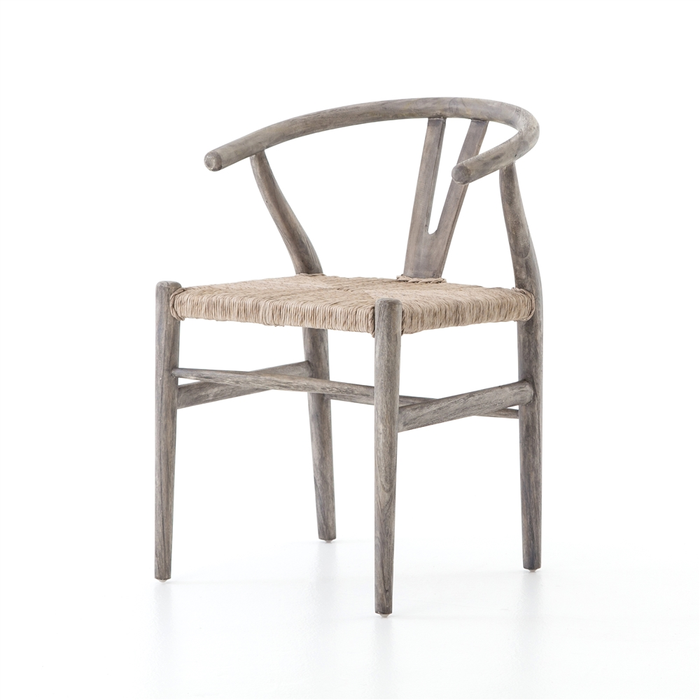 Grass Roots Muestra Dining Chair In Weathered Grey Teak