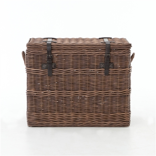 Theory Wicker Trunk End Table