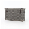 Theory Wicker Console Trunk