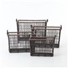 Theory Nesting Wicker Baskets, Set of 4
