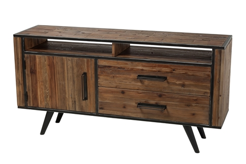 Eaton Reclaimed Fir Media Console