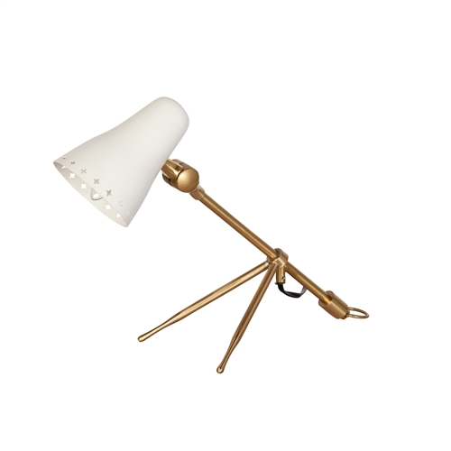 Design Tree Home Lacroix Lamp - Matte White