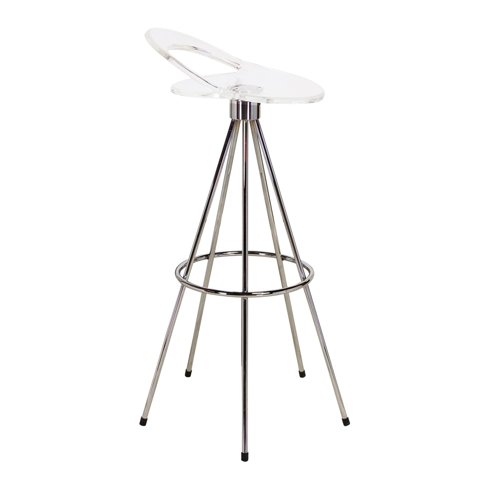 pepe cortes jamaica style clear bar stool