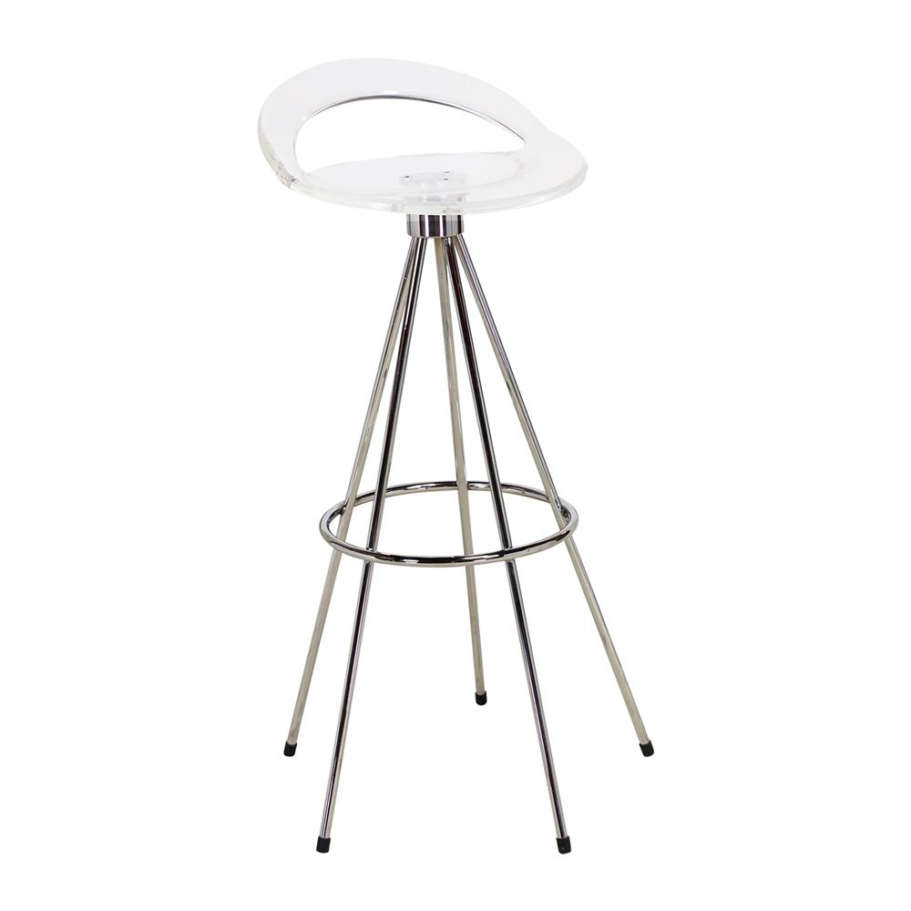 pepe cortes jamaica style clear bar stool - Clear Bar Stools