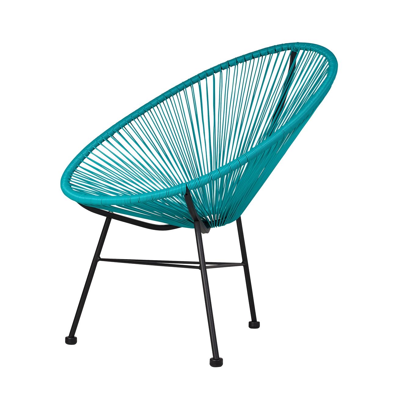 Acapulco Outdoor Lounge Chair Blue, The Khazana Home Austin ...