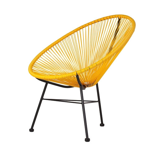 Acapulco Lounge Chair - Yellow