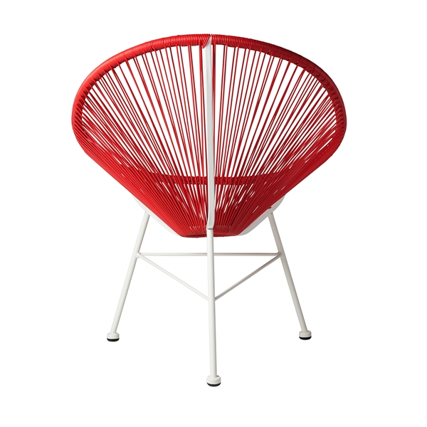 Acapulco Lounge Chair in Red, The Khazana Home Austin Furniture Store